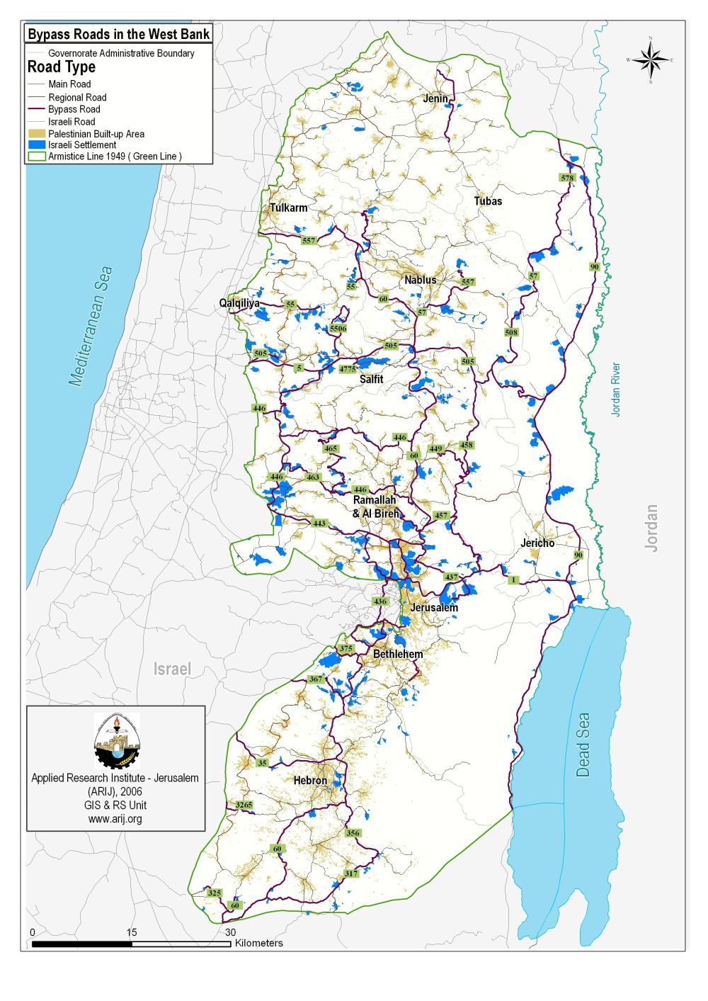 Proposed scheme to further the separation of the road network poica and logistically intolerable as it is impossible for palestinians to move from one town or village to another without passing through israeli controlled gumiabroncs Images