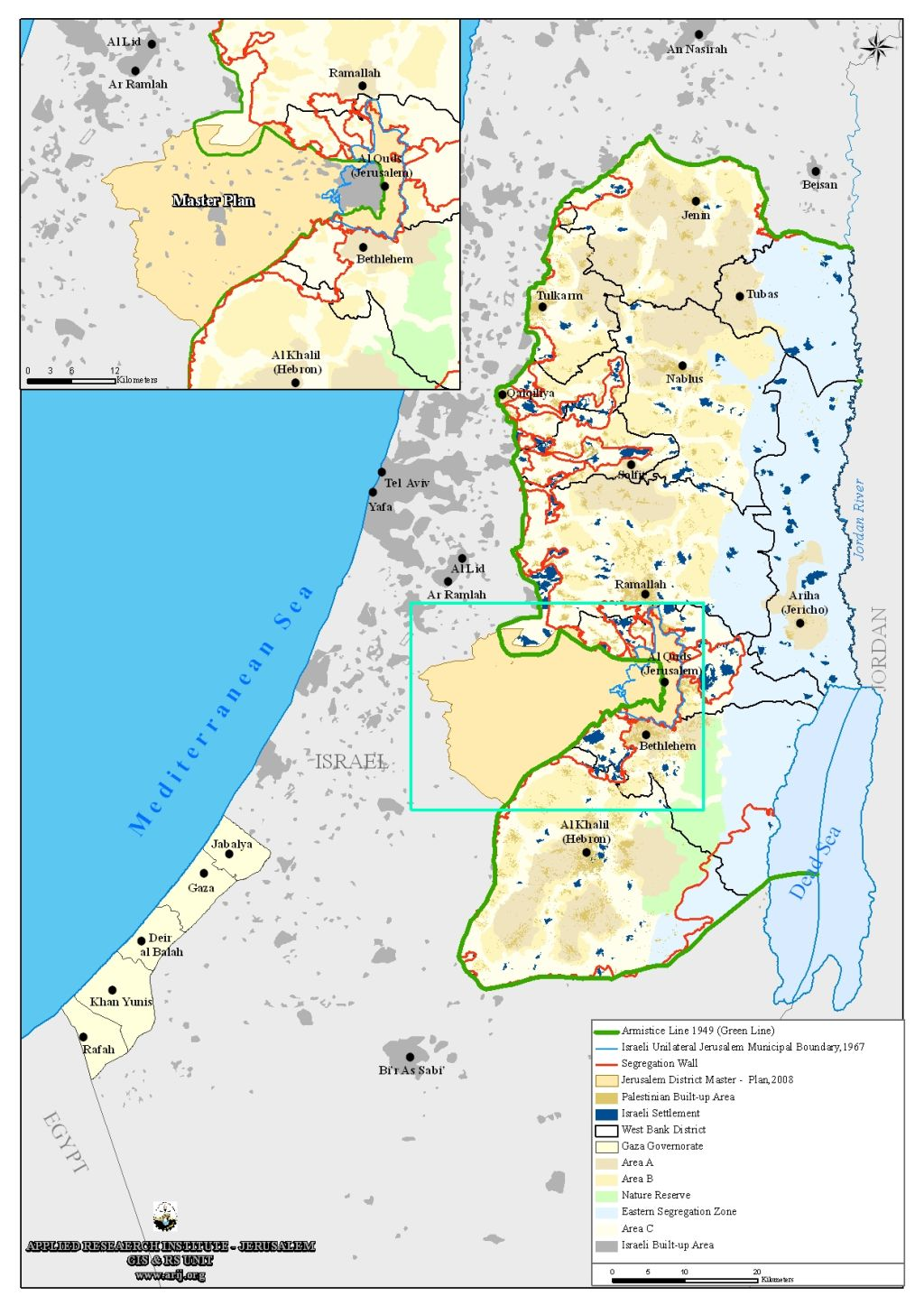 A New Chapter in the Israeli Colonial Project Jerusalem District