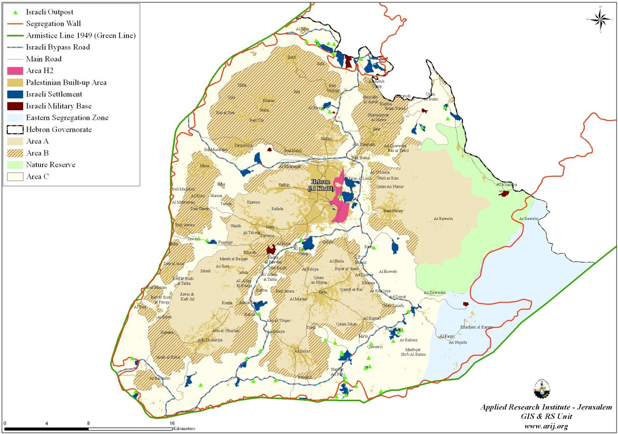 Hebron Governorate Geopolitical Overview POICA