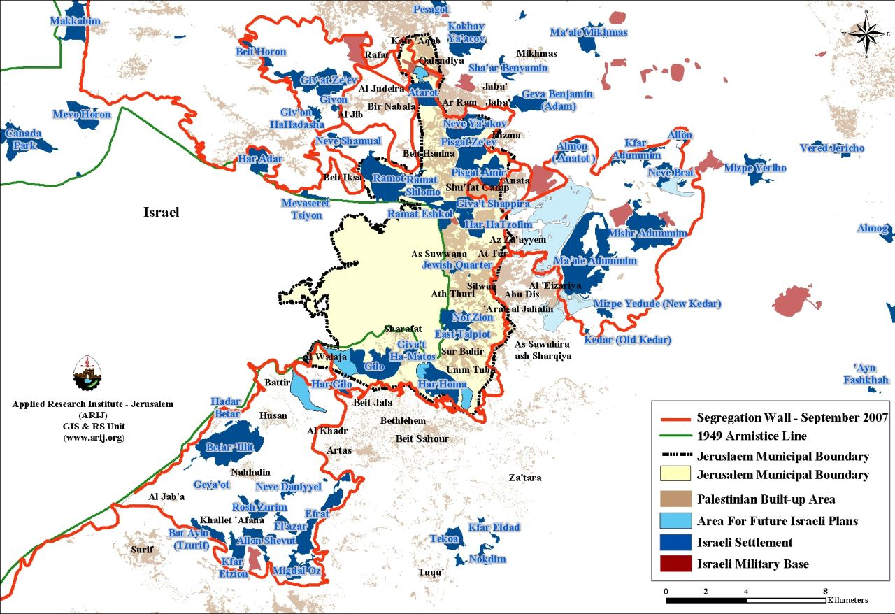 The Israeli efforts to consolidate settlers colonial hold over