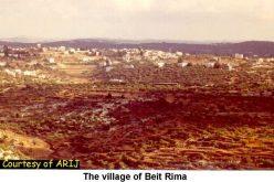 The Israeli Army Ravages Beit Rima