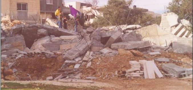 Repeating Demolishing in Jerusalem … A new Tragedy At Al-Isawiyah