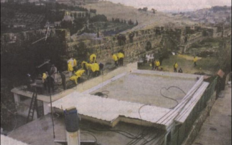 The Jewish Municipality of occupied Jerusalem demolishes a housing unit in the old city and forces the owner to pay