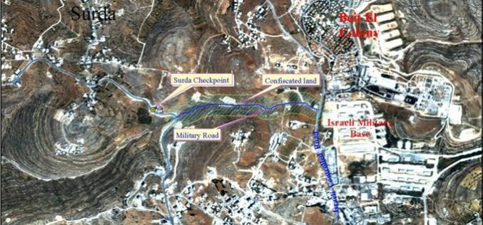 Israeli Military Order Seizes 10-dunums of land from Al-Bireh town …