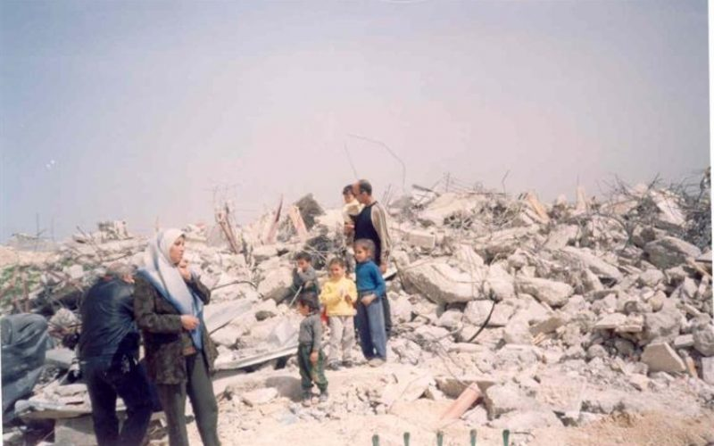 Israeli house demolition campagin continued unabated