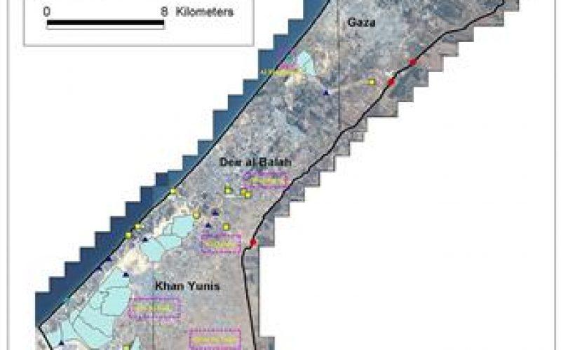 IOF Impair the Gaza Strip