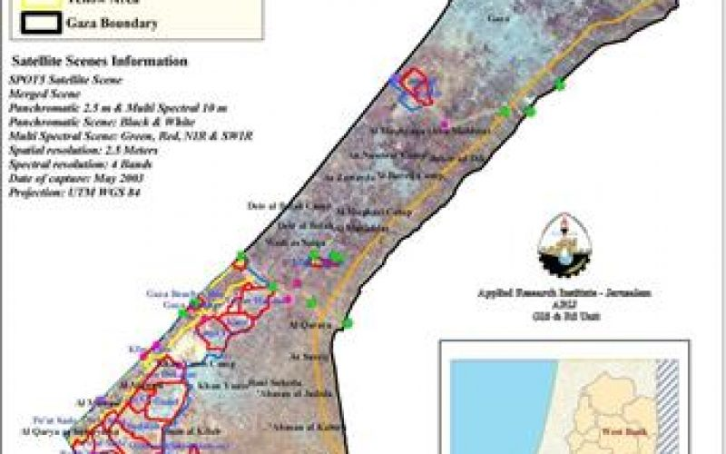 An analysis on the recent geopolitical situation in the Gaza Strip