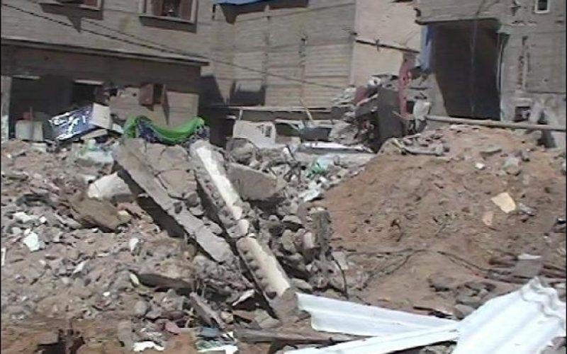 Homeless in Rafah