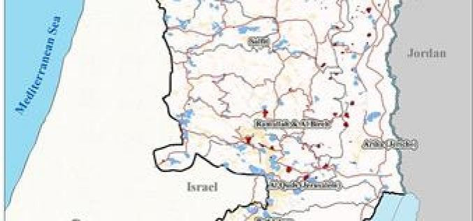 The Israeli Colonization activities in the Palestinian Territories during the 4th quarter of 2003