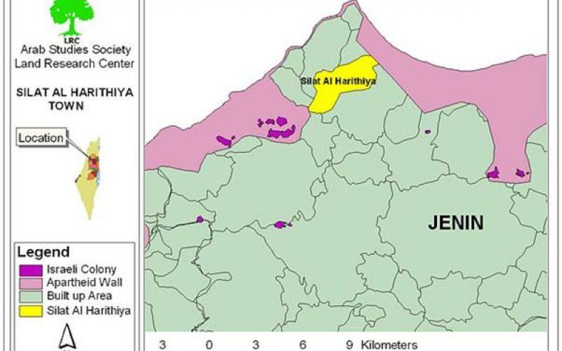 Impact of Segregation Wall on Silat Al Harithiya town