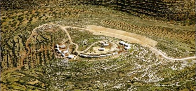 The Epidemic of Israeli Outposts