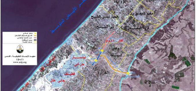 مستوطنة كفار داروم… أرض فلسطينية سرقت بالقرارات العسكرية ومن المستوطنين