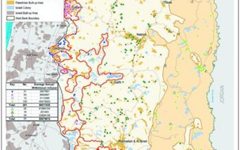 The Israeli colonization activities in the Eastern Segregation Zone