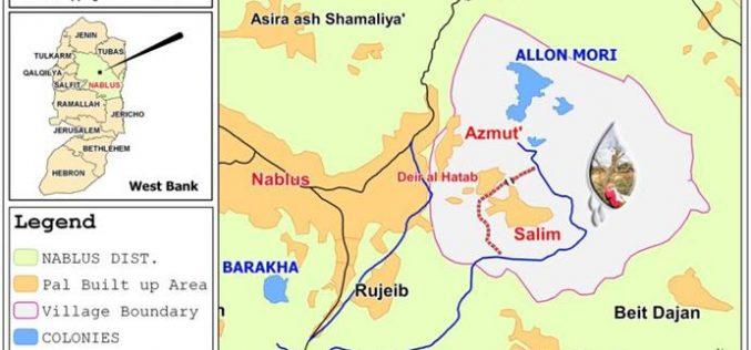 قرية سالم بين فكي الاحتلال الإسرائيلي و اعتداءات المستوطنين