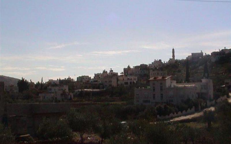 Al Lubban Al Gharbi Village feels the threat of the Israeli Segregation Wall