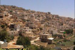 The Segregation Wall threatens the lands of Artas Village, Southwest Bethlehem City !!!