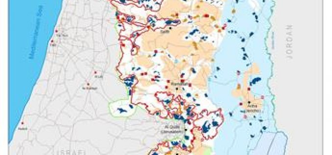 42 Palestinian Localities in the Eastern Segregation Zone are under daily Israeli aggression