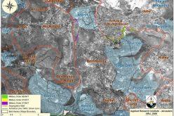 Lands of Beit Hanina (Al-Balad) village threatened by the Israeli Segregation Wall