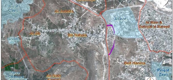 Bir Nabala Village:  two Separate Enclves reunited into one Big Enclave