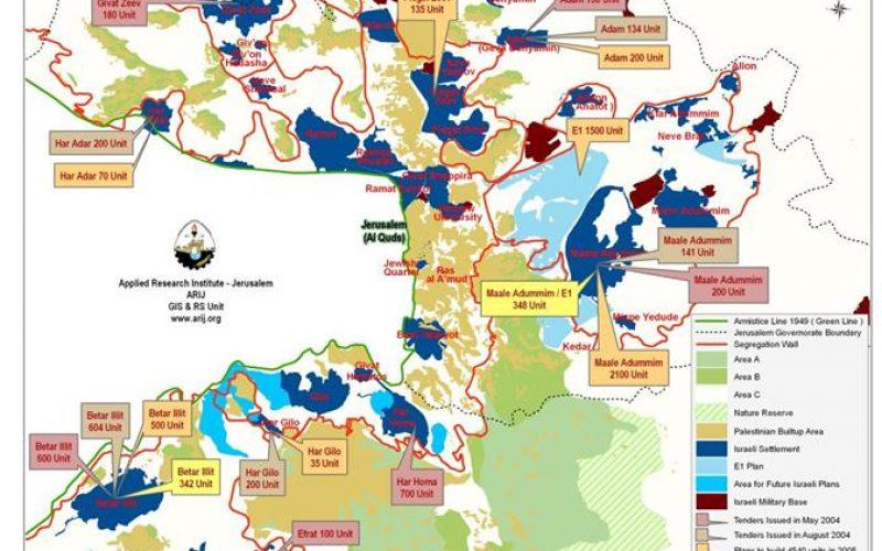 More Housing Units : New Tenders in Israeli West Bank Settlements