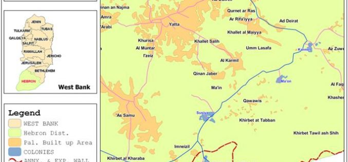 A profile of Settlers' aggressions against Palestinian people and land in the southern part of Hebron Governorate during the month of September