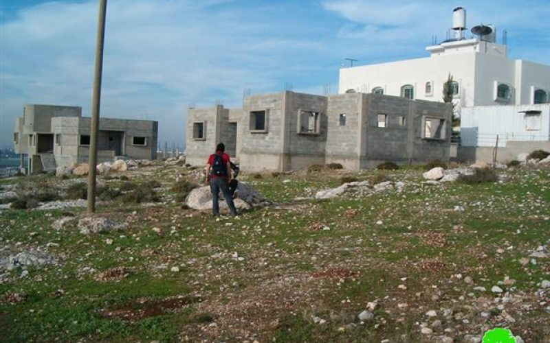 Demolition threats against Palestinian Houses located close to Wall path in Far'oun Village
