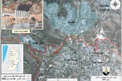 إسرائيل تبدأ بتثبيت الجدار شمال مدينة بيت جالا