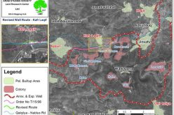 Israeli revised Wall path cuts linkage between Kafr Laqif,  Azzun Ashamalia villages and Nablus city