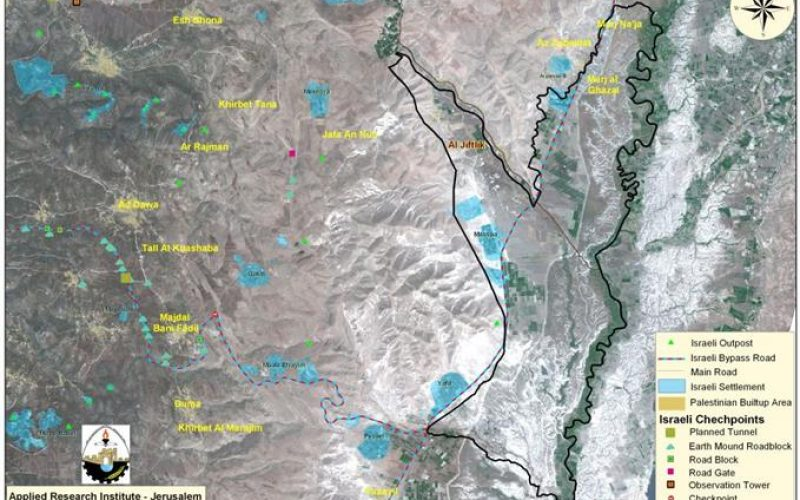 "Israel Hits Al ""Jiftlik"" Village, north of Jericho Governorate"