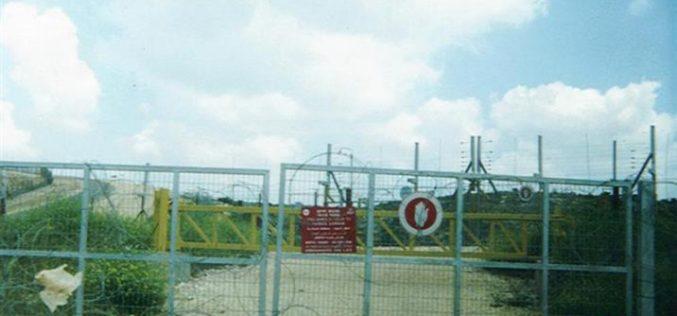 Farmers of Ar ras village denied access to their lands