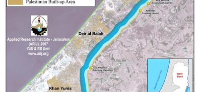 Israel increases the security buffer zone around the Gaza Strip