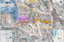الاحتلال الاسرائيلي يصادر أراض جديدة من قرية النعمان شرقي بيت ساحور