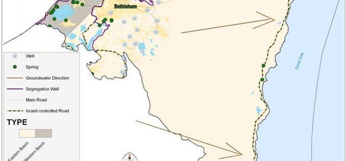 أزمة المياه في محافظة بيت لحم