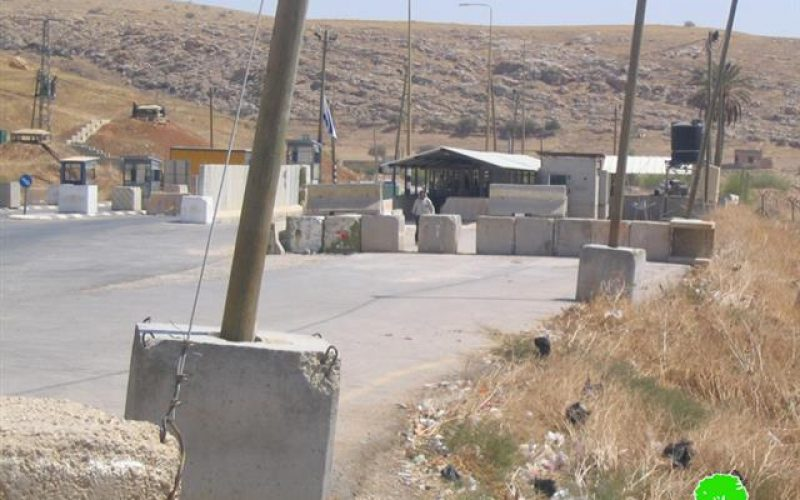 The Ghor region has been separated from the West Bank since two years