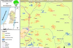 A new Expansion in the colony of Itamar on the Lands of the Palestinian Town of Aqraba