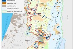 The Israeli Segregation Wall isolates 29 Palestinian villages' boundaries and hits 138 other villages