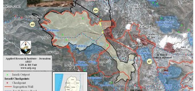 Betunia: A Palestinian Community Victimized by the Israeli Colonization Activities