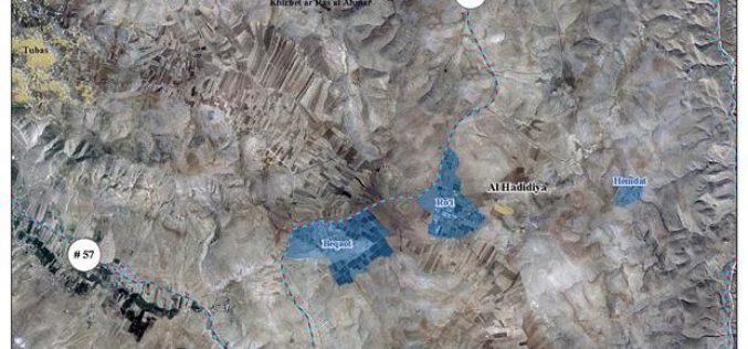 استهداف اخر لمنطقة الاغوار الفلسطينية