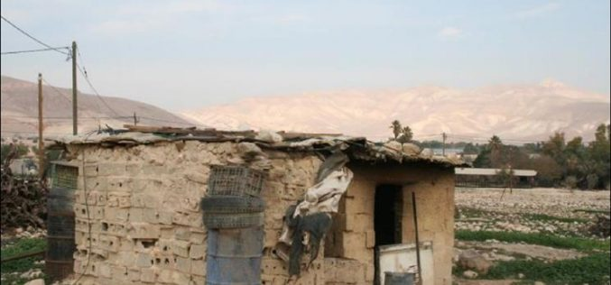 Israeli House demolition Campaign continue in the Jordan Valley Area