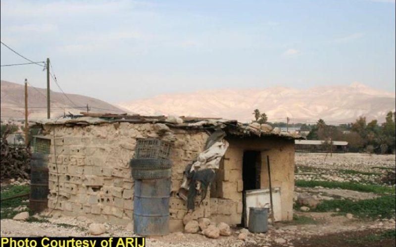Israeli House demolition Campaign continue in the Jordan Valley Area