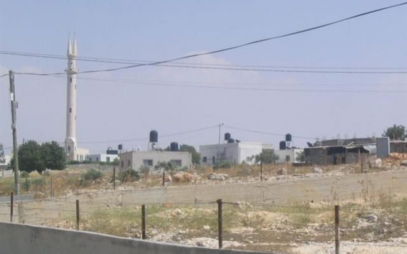 House Demolition warnings against Palestinian Housing Structures in Al 'Aqaba Village