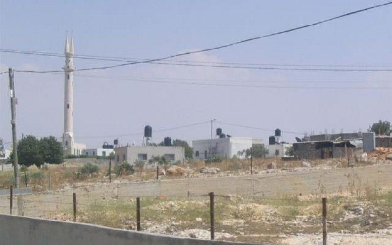 إنذار عدد من المنشآت السكنية بالهدم في شمال الضفة الغربية