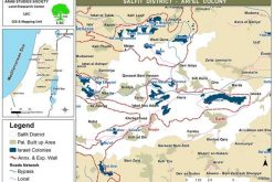 The Sewage of Israeli Settlements Pollute Palestinian Lands in the Village of Burqin