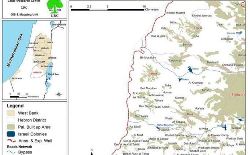 سلطات الاحتلال الاسرائيلي تسلم إخطارات لوقف البناء لعدد من البيوت في بلدة إذنا