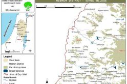 """Israeli """"halt-of-construction"""" notifications against houses and other Structures in Idhna town"""