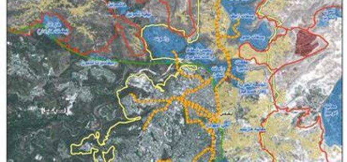 مخطط القطار السريع في مدينة القدس المحتلة