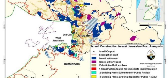 Building plans in East Jerusalem Post Annapolis