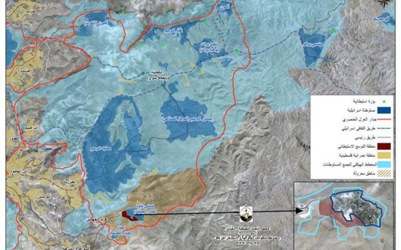 """أكثر من 6000 وحدة سكنية في كيدار  <br> """" إسرائيل تعزز مخطط الجدار الفاصل حول القدس لتكثيف البناء """""""