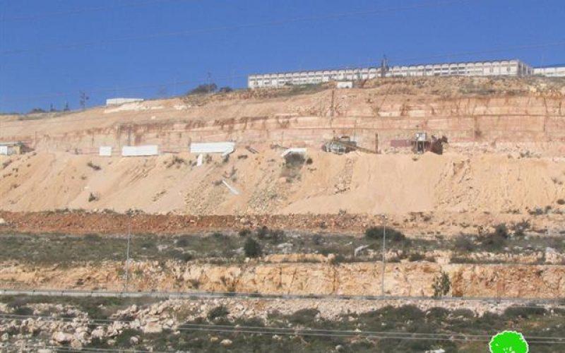 الجدار وسيلة أخرى لضم الأراضي الفلسطينية <br> حملة توسع كبيرة في المستوطنات الإسرائيلية في محافظات شمال الضفة الغربية