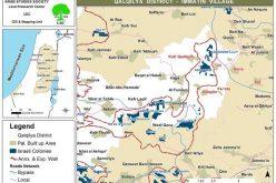 البؤر الاستيطانية شرق قلقيلية, أعمال تخريب وحرق لأراضي الفلسطينيين